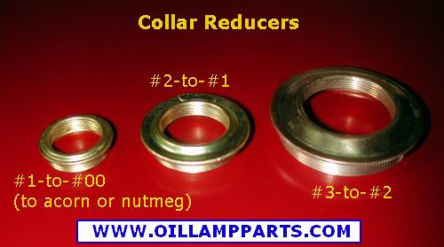 solid brass oil lamp collar Reducer